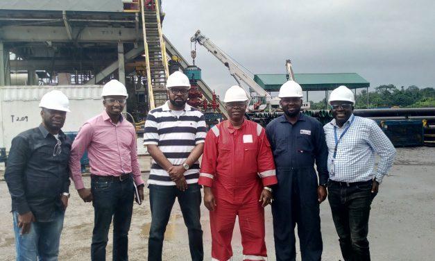 Inspection visit by SunTrust Oil MD/CEO